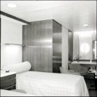 One of the first class cabins.