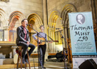 Image of performers at the Thomas Muir 250 concert