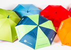 Image of colourful umbrellas