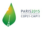Image of the UN Cop 21 climate change logo
