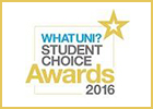WhatUni Student Choice 2016 logo