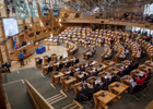 Image of the Scottish Parliament main chamber