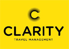 Image of the Clarity Travel logo