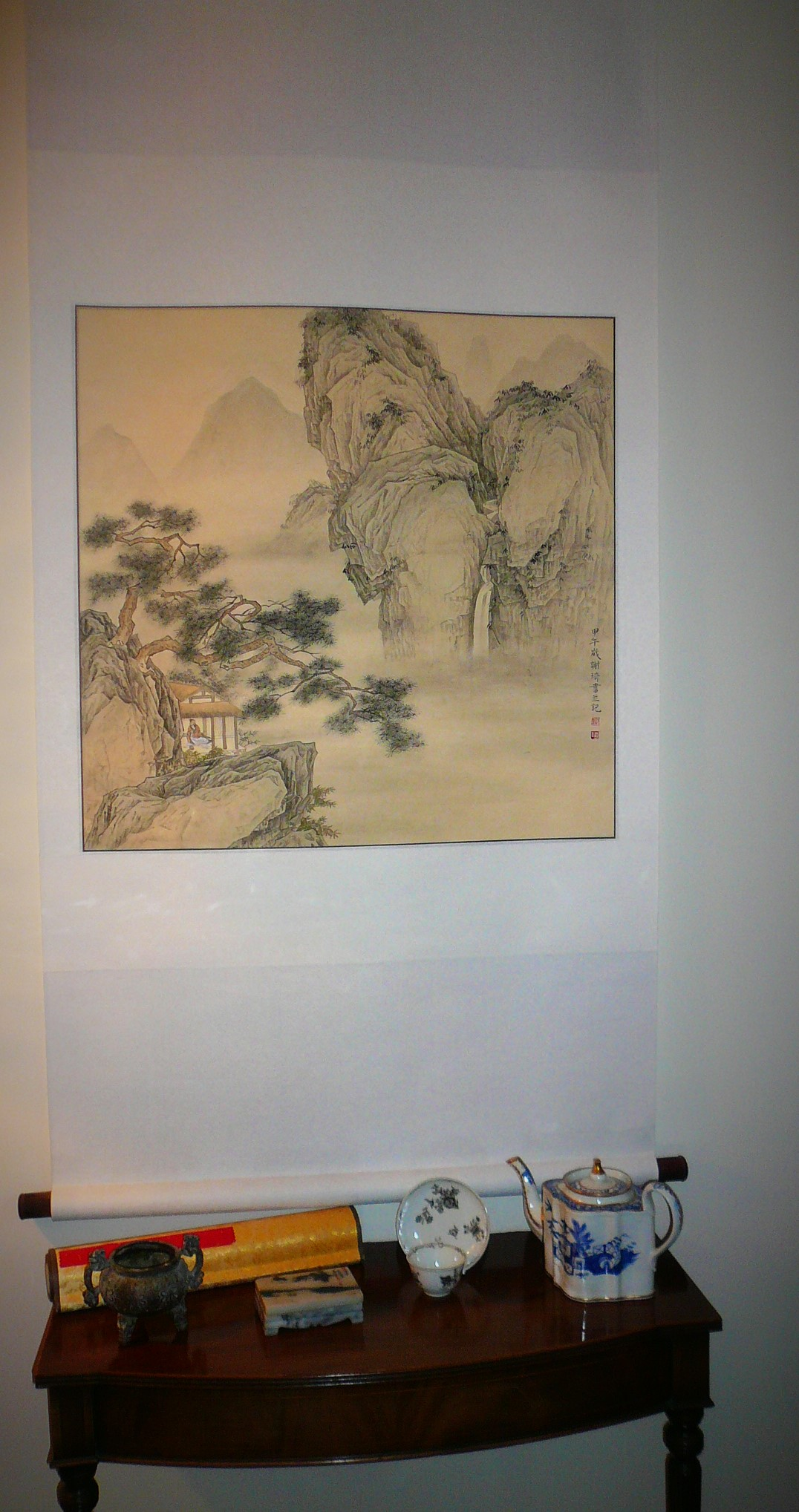 Photo of Chinese wall hanging