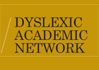 Image of the logo of the Dyslexic Academic Network
