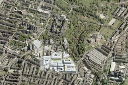 campus development aerial 450