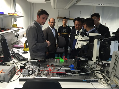 Wuxi officials & graphene talks