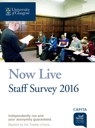 Staff Survey 2016 Poster