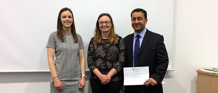 Postgraduate prize winners