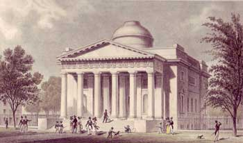 The Hunterian Museum at the Old College, drawn by T. H. Shepherd, engraved by A. Fox, 1820–30