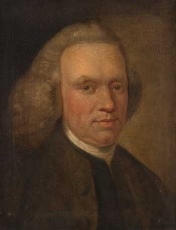 Portrait of Andrew Foulis, c. 1755.