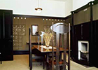 Image of the interior of the Mackintosh House