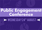 UofG Public Engagement Conference logo 2016