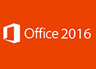 Image of the Microsoft Office 2016 logo