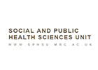 Image of the MRC/CSO Social and Public Health Sciences Unit title/logo