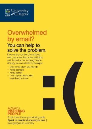 Email Overload Campaign - Poster 6