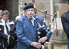 Image of the late Donald Campbell, University Piper