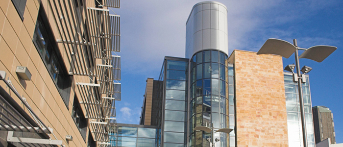 Photo of BHF GBMRC building