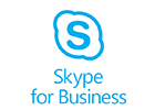 Image of the Skype for Business logo from Microsoft