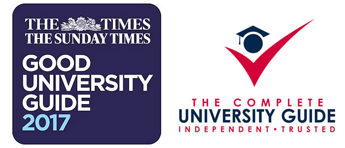 Times Good University Guide and Complete University Guide logos
