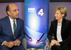 Professor Kwame Anthony Appiah speaks with the BBC's Sue Lawley