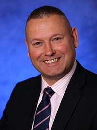 Image of Gary Stephen, the University of Glasgow's Head of Security and Operational Support