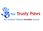 Image of charity vet clinic Trusty Paws branding