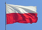Image of the national flag of Poland
