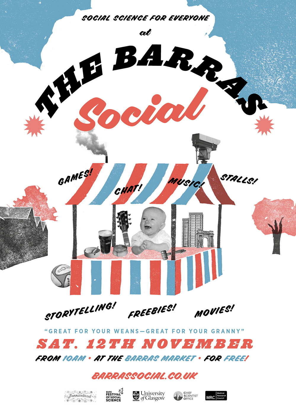 The Barras Social Flyer