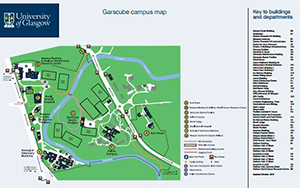 Garscube Campus map