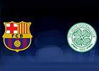 Image of the Celtic and Barcelona club crests