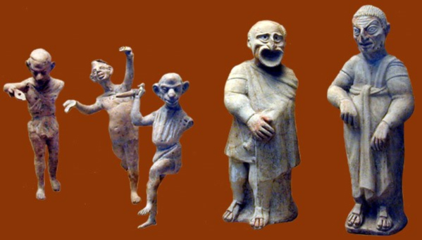 Image of Roman figurines
