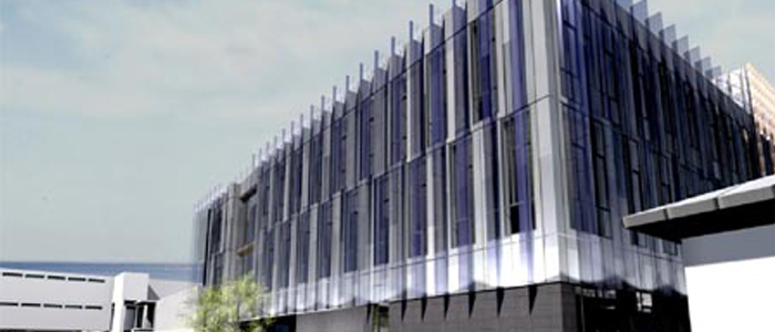 Artists impression of the new ICE building