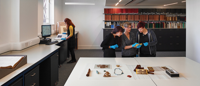 The Hunterian's unseen collections move to Kelvin Hall
