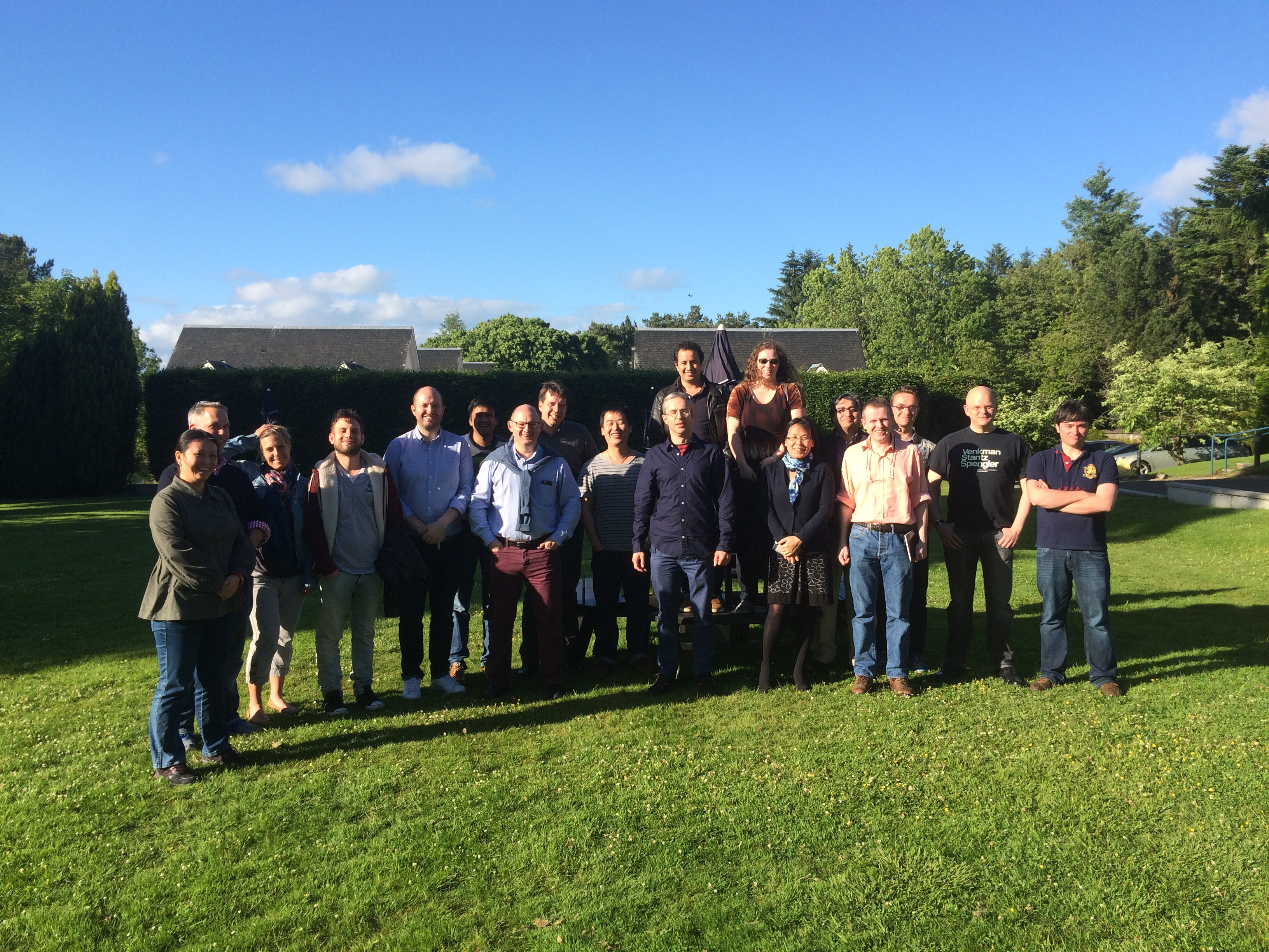 The Sonopill team at Duchally House at their 2016 Away Day