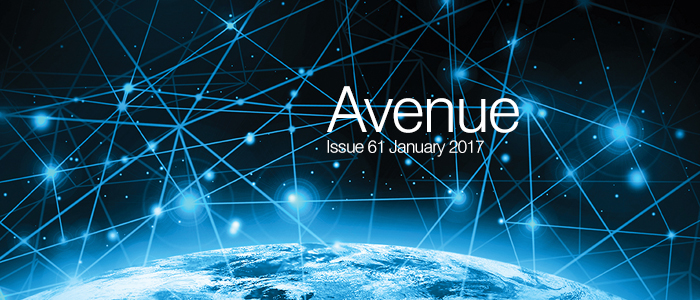 Banner for Avenue Magazine Issue 61