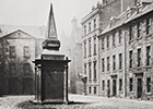 Professors' Court in the 'Old College' off the High Street, photographed in the 1860s
