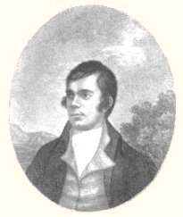 An engraving of a portrait of Robert Burns by John Beugo (1759-1841).