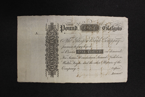 Scottish banknote