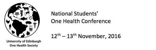 Image of National Students' One Health Conference banner