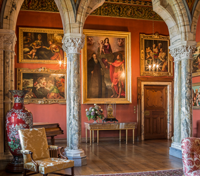 Mount Stuart Drawing Room.