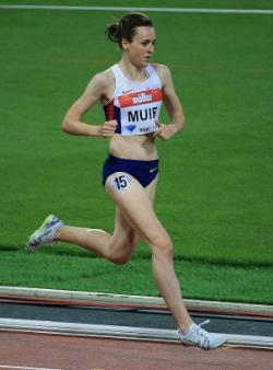 Laura Muir running
