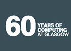 Branding for the University of Glasgow's celebration of Computing at 60