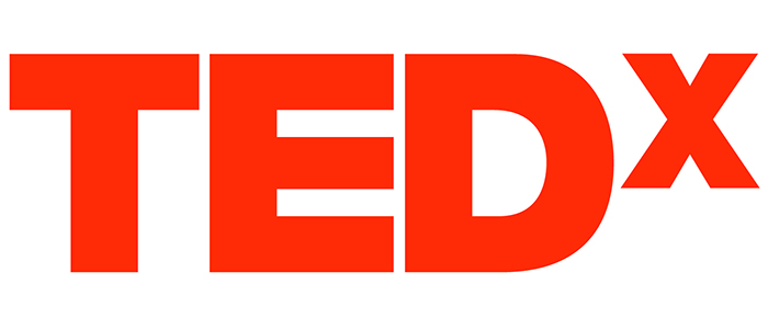 Image of the red, TEDx branding