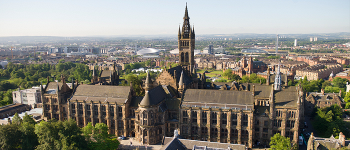 Photo of University of Glasgow main building