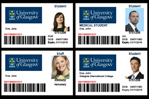 Image of the new design for staff and student ID cards known as Campus Cards.
