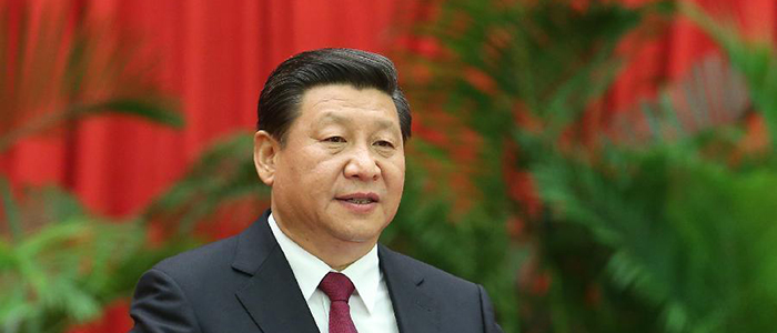 Image of the Chinese President, Xi Jinping