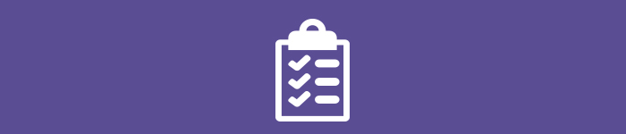 Your essentials.Checklist icon. Icon used was made by Freepik from flaticon.com, licensed by a CC BY 3.0.