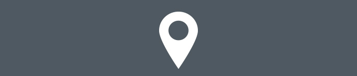 Navigate campus. Location icon. Icon used was made by Freepik from flaticon.com, licensed by a CC BY 3.0.