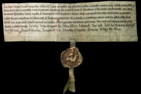 Medieval Charter 450